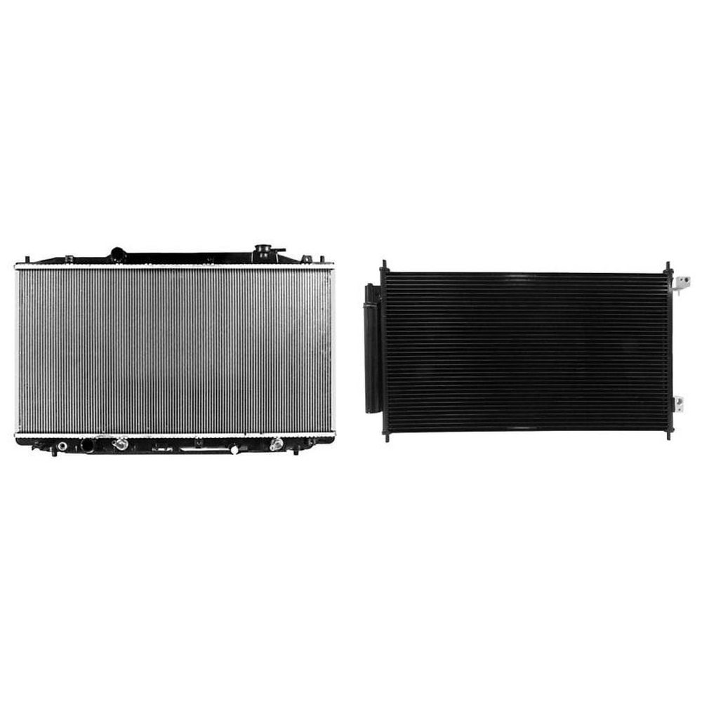 Radiator & A/C Condenser Kit For 2013-2015 Acura RDX