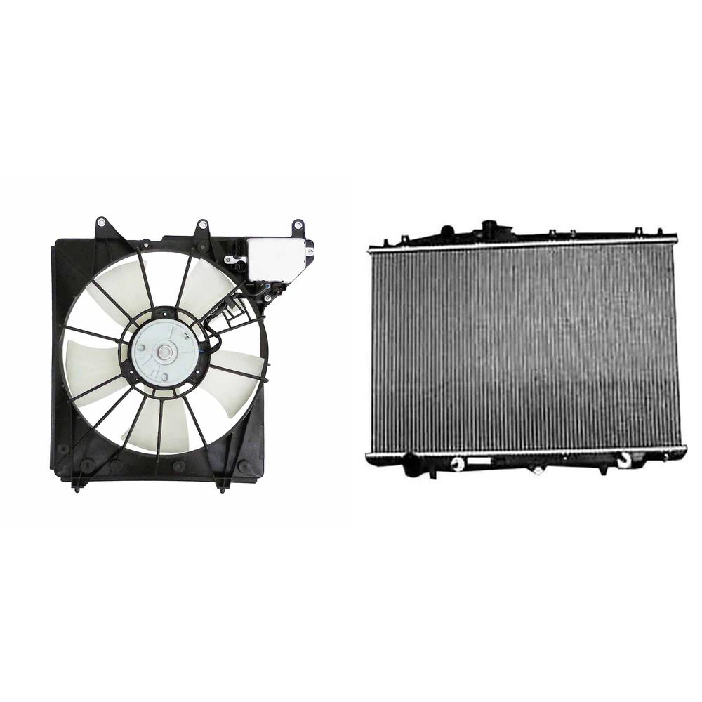 Engine Cooling Fan Assembly & Radiator Kit For 2005-2008