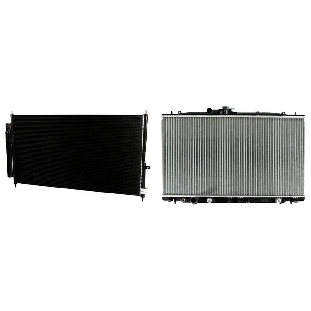 A/C Condenser & Radiator Kit For 2007-2012 Acura RDX