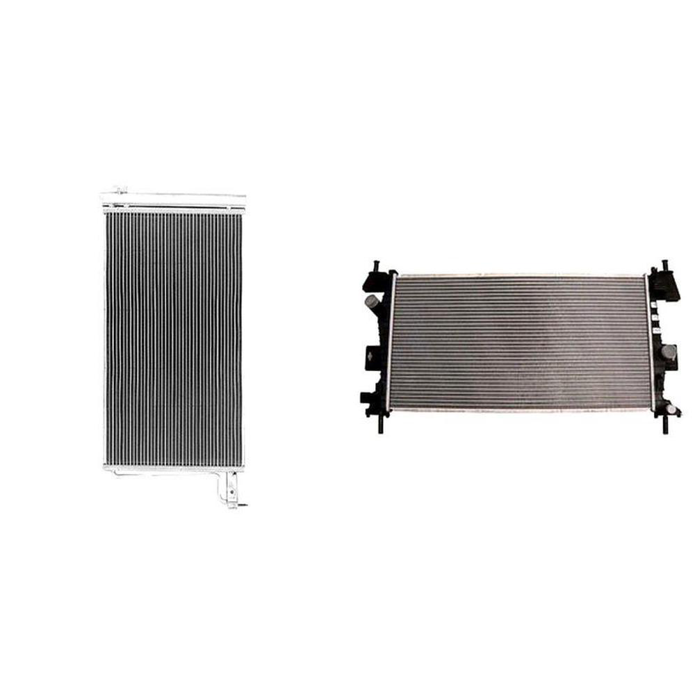 Partslink Number FO3010301 Multiple Manufacturers RAD13219 OE Replacement Ford Focus Radiator