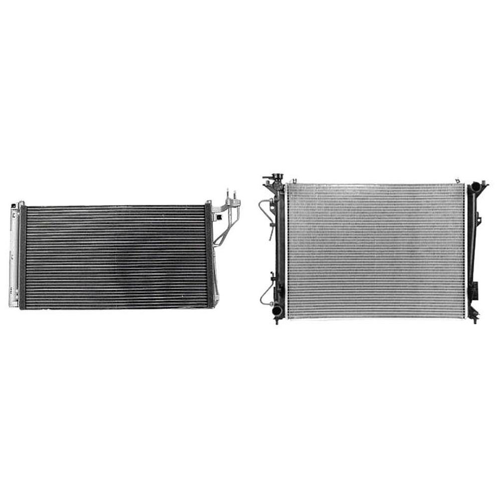 Kia Optima HY3030136 CPP Air Conditioning Condenser for Hyundai Azera Sonata