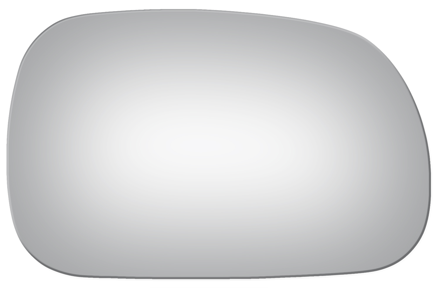 Burco 3587 Passenger Side Replacement Mirror Glass For