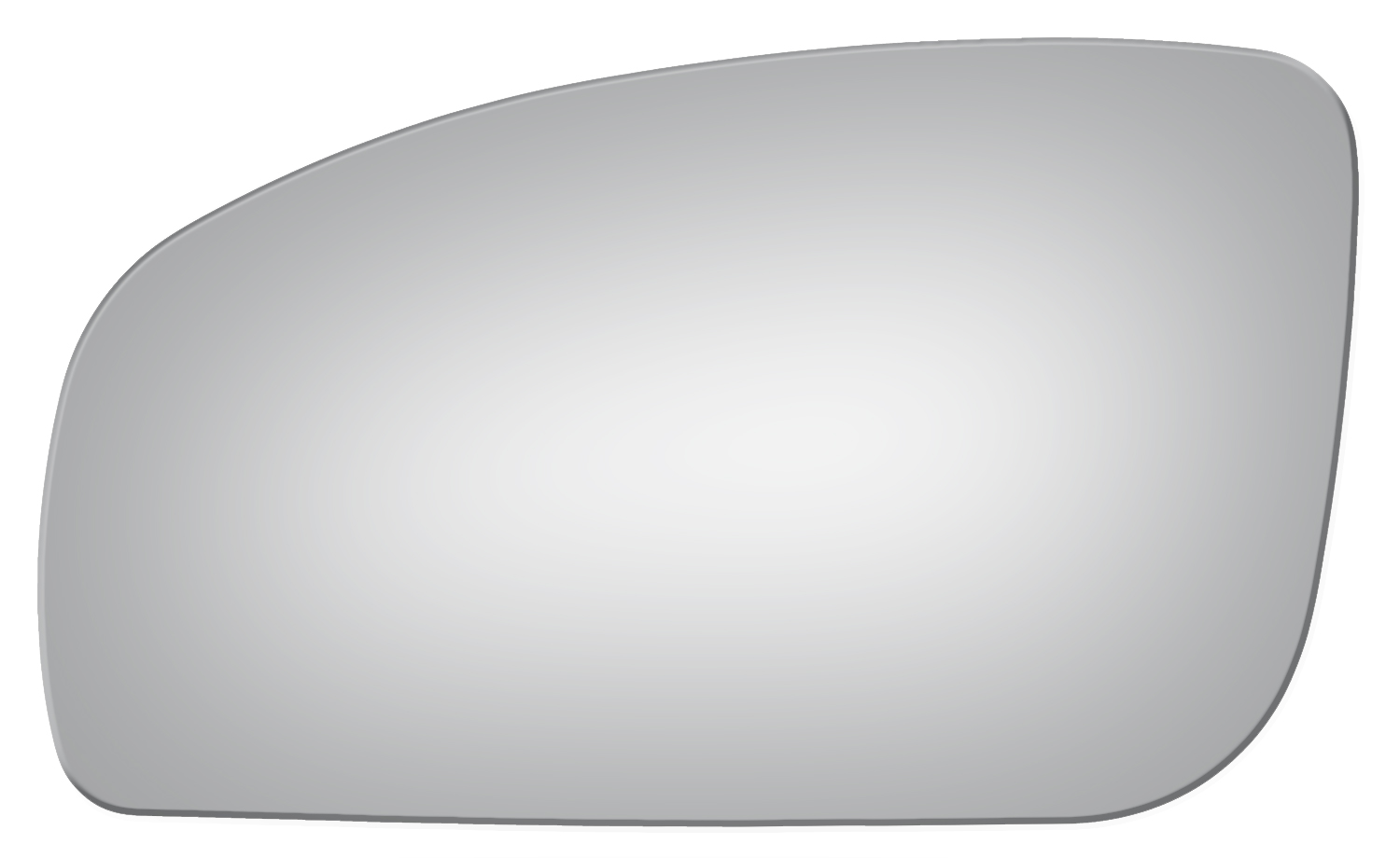 Left Driver Side Flat Replacement Door Mirror Glass For ...