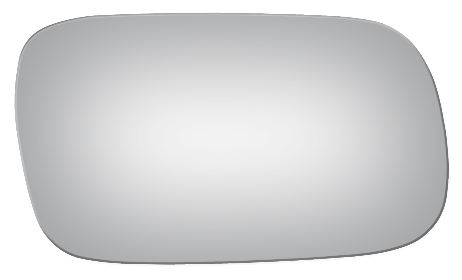 Non Heated Passenger Side Replacement Mirror Glass W