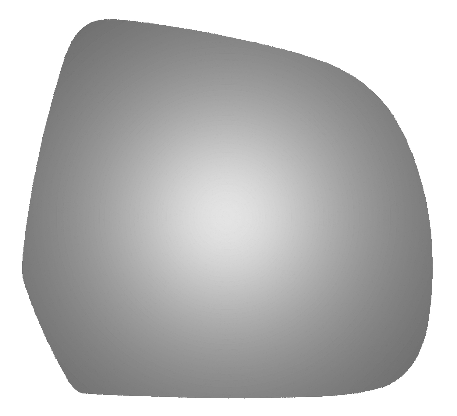 Mirror Glass Replacement Full Adhesive For 11-17 Nissan Leaf Passenger Side