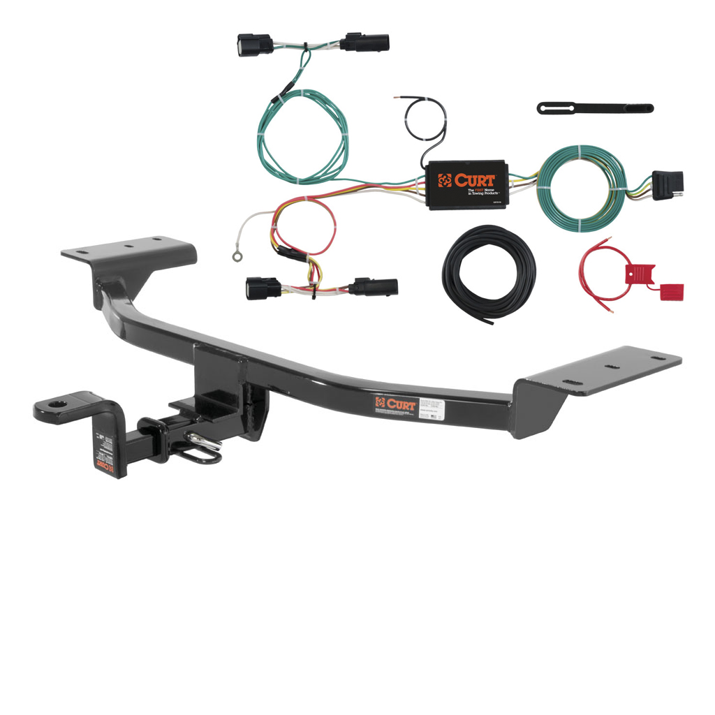 CUR 111583 56273 curt class 1 trailer hitch & wiring for 2015 2016 ford focus ebay curt trailer hitch wiring at n-0.co