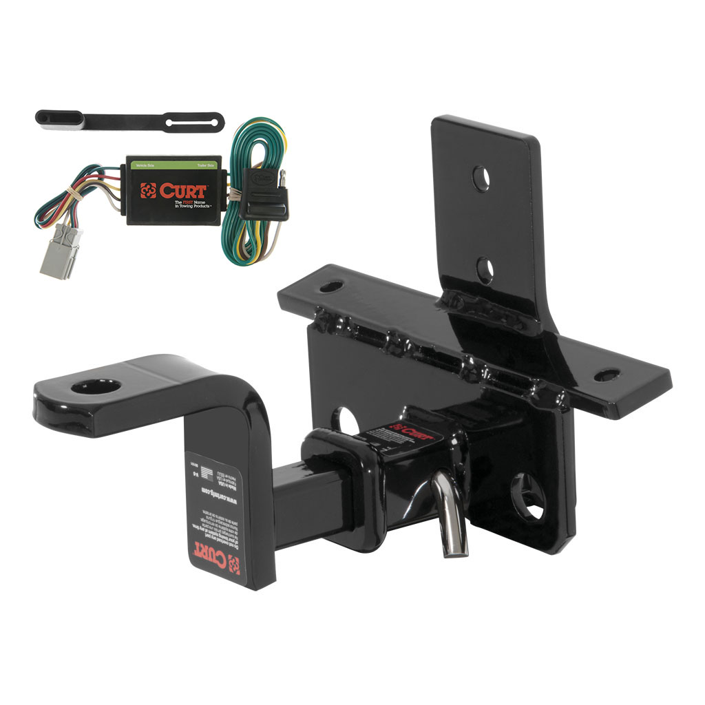 CURT Class 1 Trailer Hitch & Wiring For Acura MDX, Honda