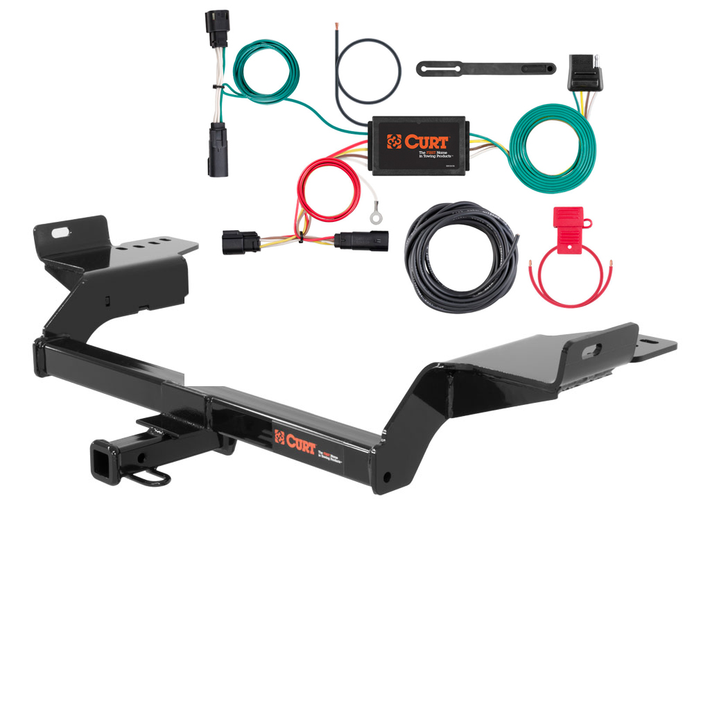 curt class 2 trailer hitch wiring for 2017 ford escape ebay. Black Bedroom Furniture Sets. Home Design Ideas