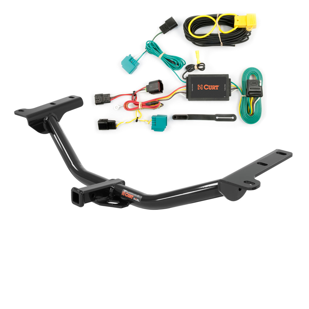 curt class 2 trailer hitch wiring for 2009 dodge journey. Black Bedroom Furniture Sets. Home Design Ideas