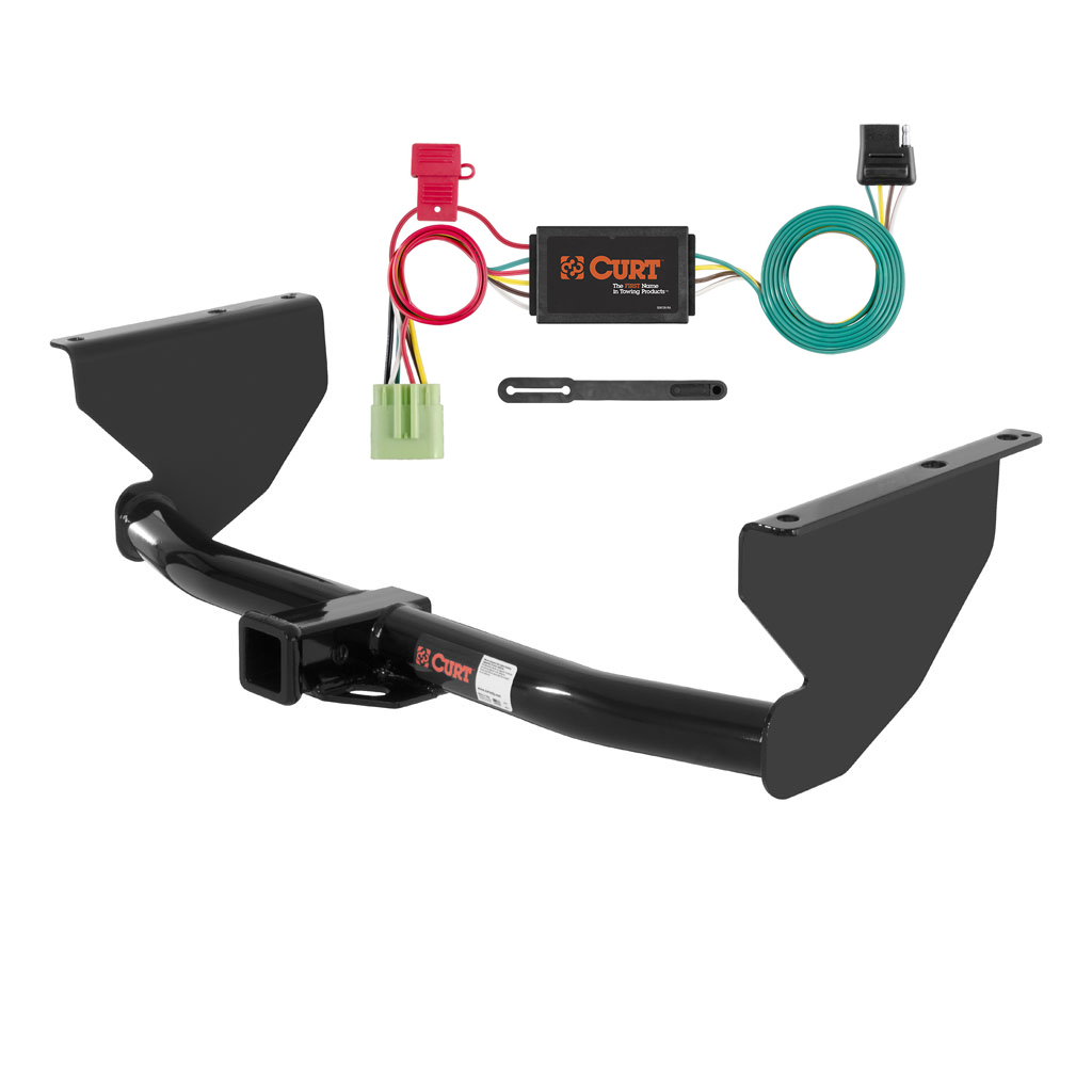 Curt Class 3 Trailer Hitch Wiring For 1999 2004 Jeep Grand No Converter 4 Flat Custom Fit Cherokee