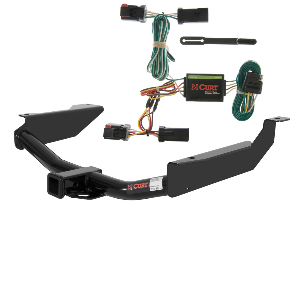 CURT Class 3 Trailer Hitch & Wiring for 1998-2003 Dodge ...