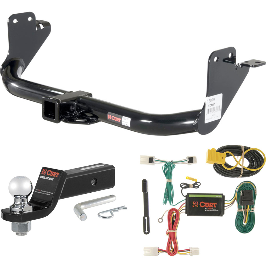 Curt Class 3 Hitch Tow Package With 2 Ball For Mitsubishi Outlander Way Electrical Adapters Gt 4way Flat 4 Sport Rvr