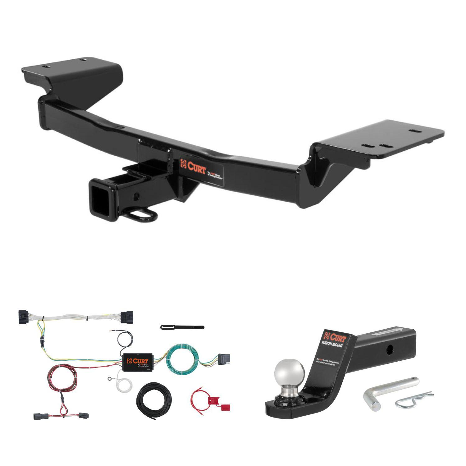 CURT Manufacturing 13120 Class 3 Trailer Hitch 2-Inch Receiver for Select Hyundai Tucson and Kia Sport Age