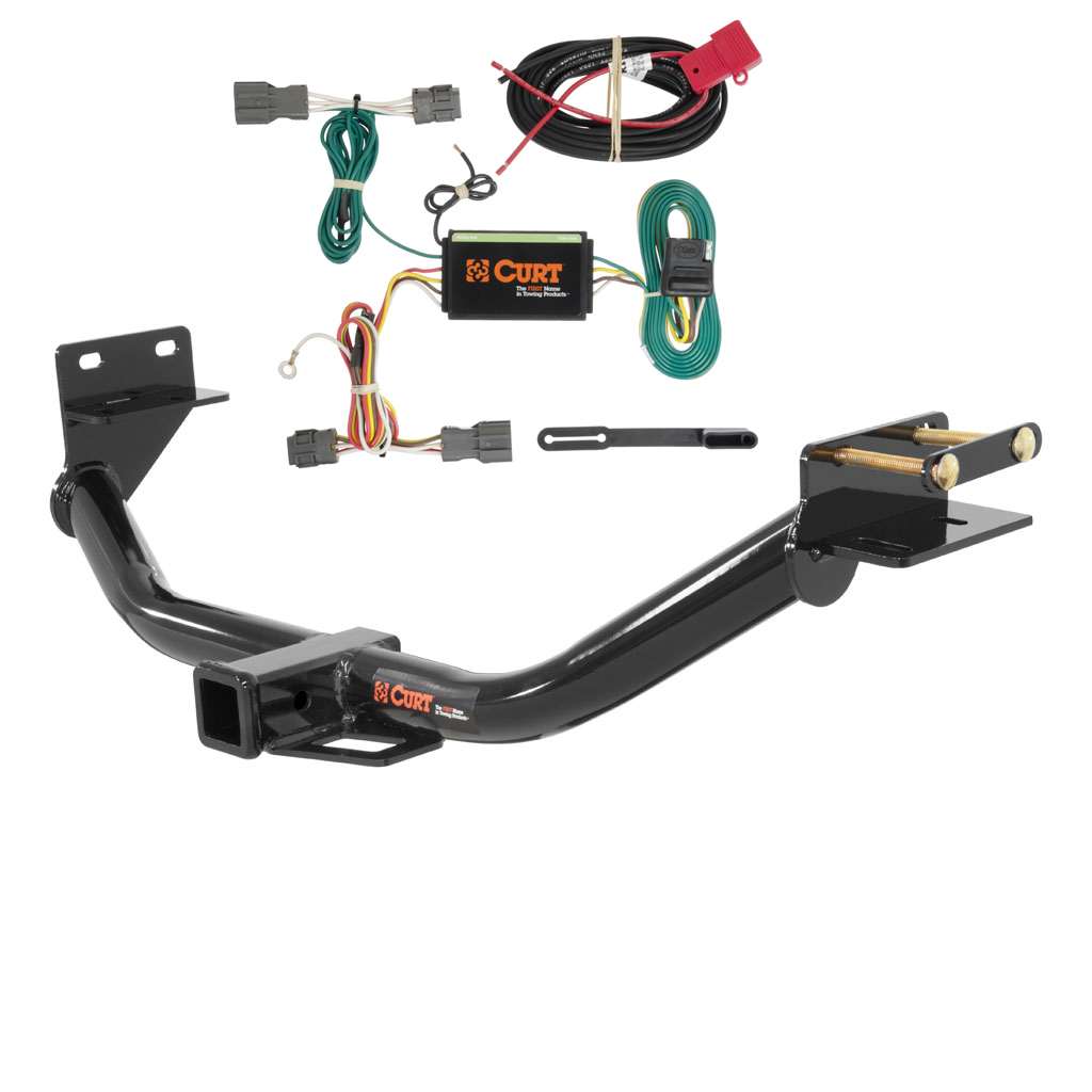 Curt Class 3 Trailer Hitch Wiring For 2013 2016 Hyundai Santa Fe How To Wire A Image Is Loading Amp