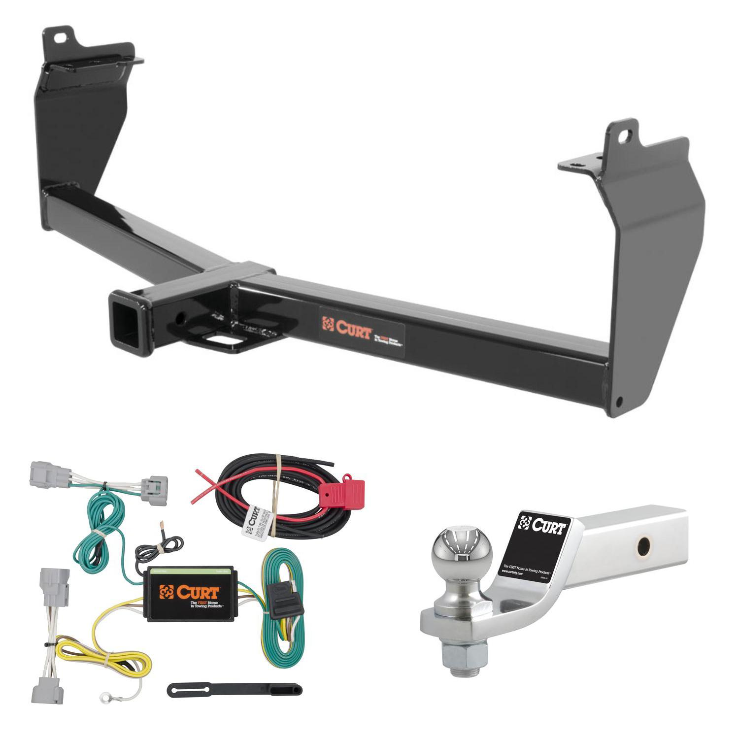 curt trailer hitch wiring 2 ball mount w 2 drop for 14 16 jeep rh ebay com curt trailer hitch wiring diagram curt trailer hitch wiring installation