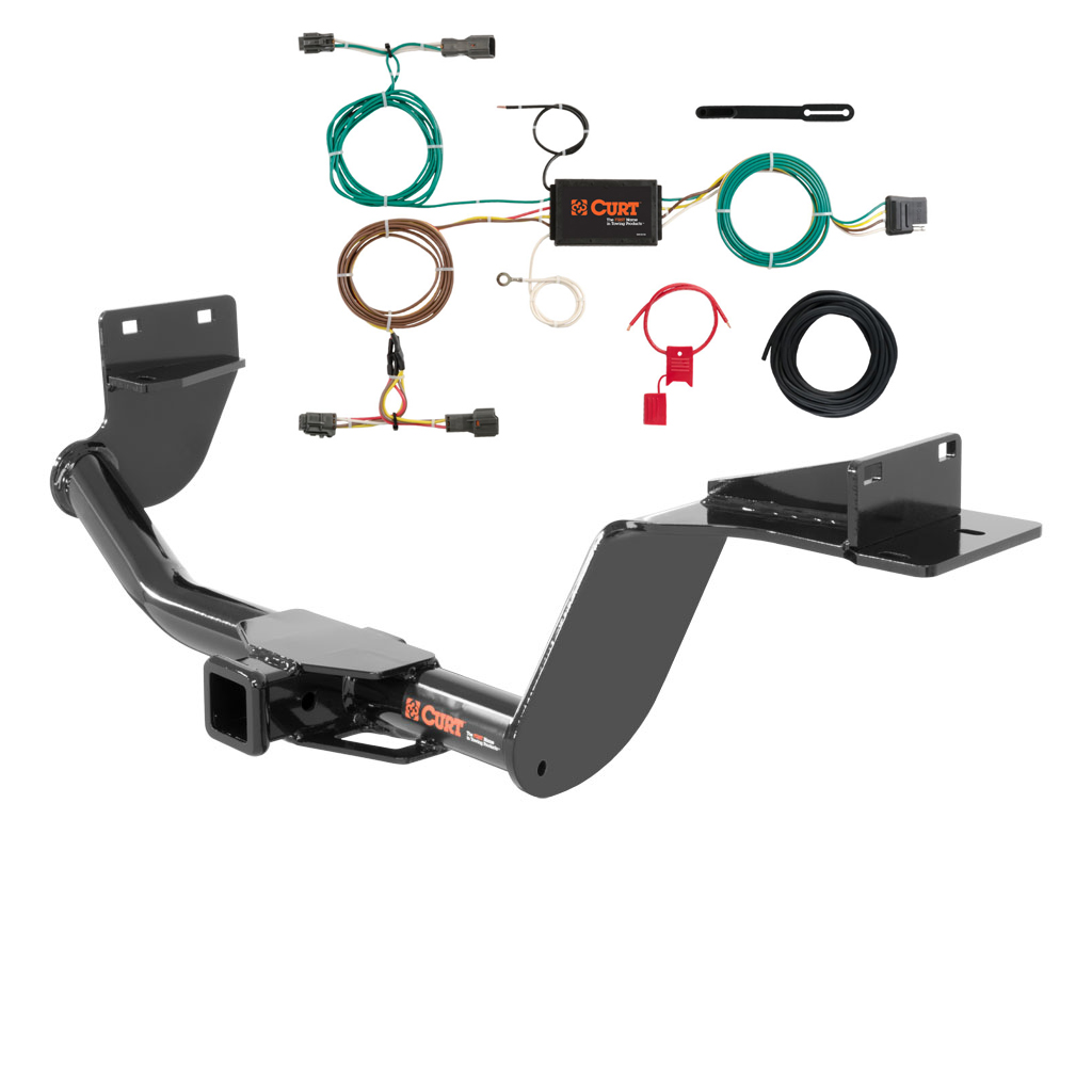 CUR 13195 56256 curt class 3 trailer hitch & wiring for 2016 kia sorento ebay