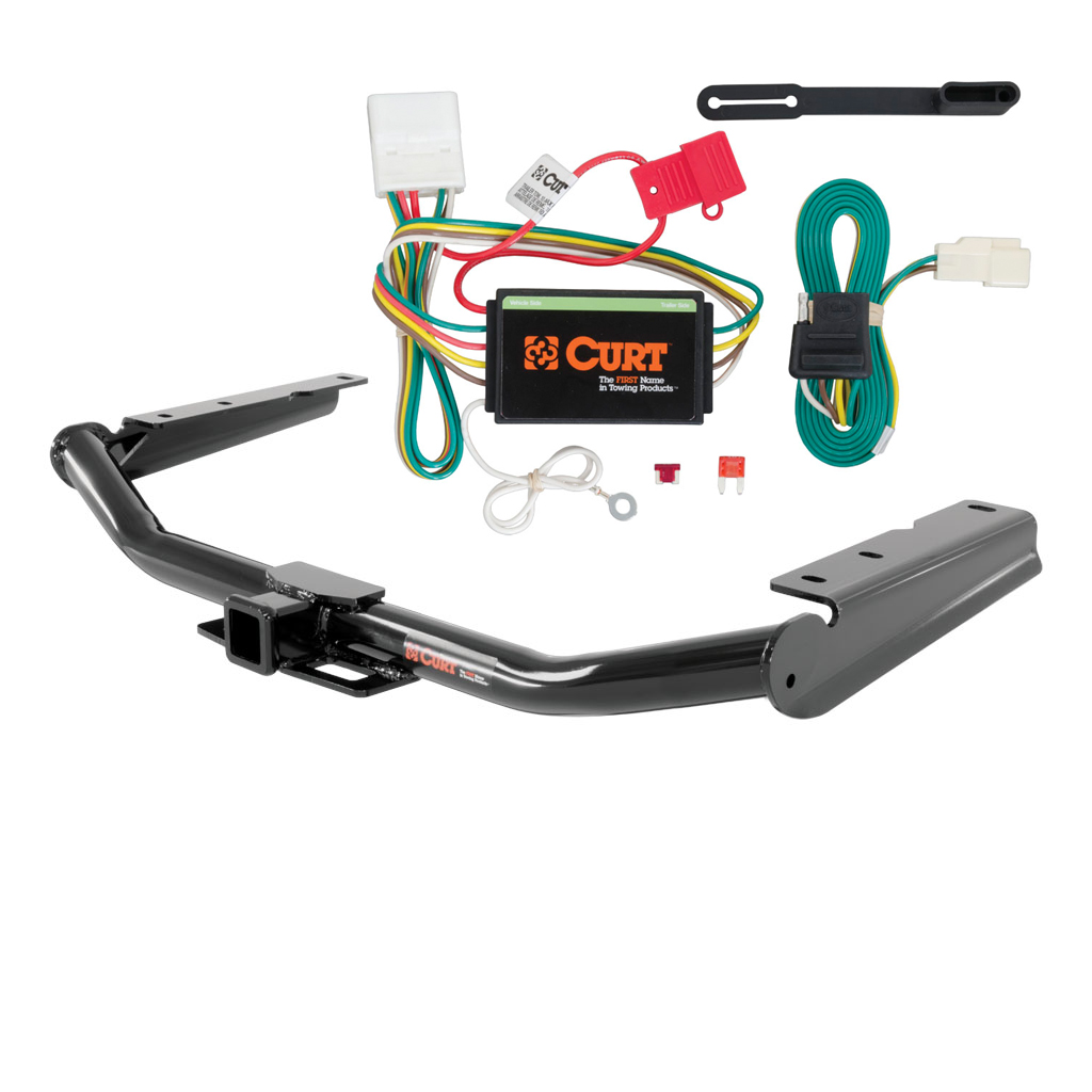 CURT Class 3 Trailer Hitch & Wiring for 2014-2016 Toyota Highlander