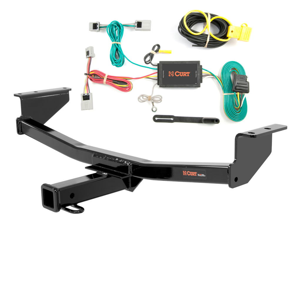 curt class 3 trailer hitch wiring for 2008 2016 nissan rogue ebay. Black Bedroom Furniture Sets. Home Design Ideas