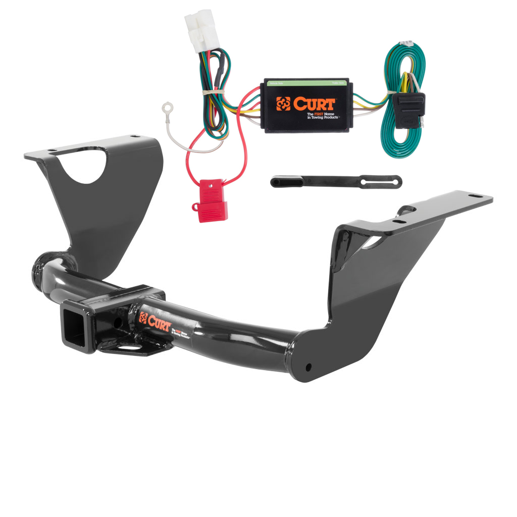 curt class 3 trailer hitch  u0026 wiring for 2014