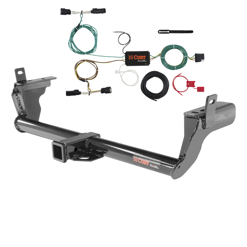 CURT Class 3 Trailer Hitch & Wiring for 2015-2016 Ford Edge