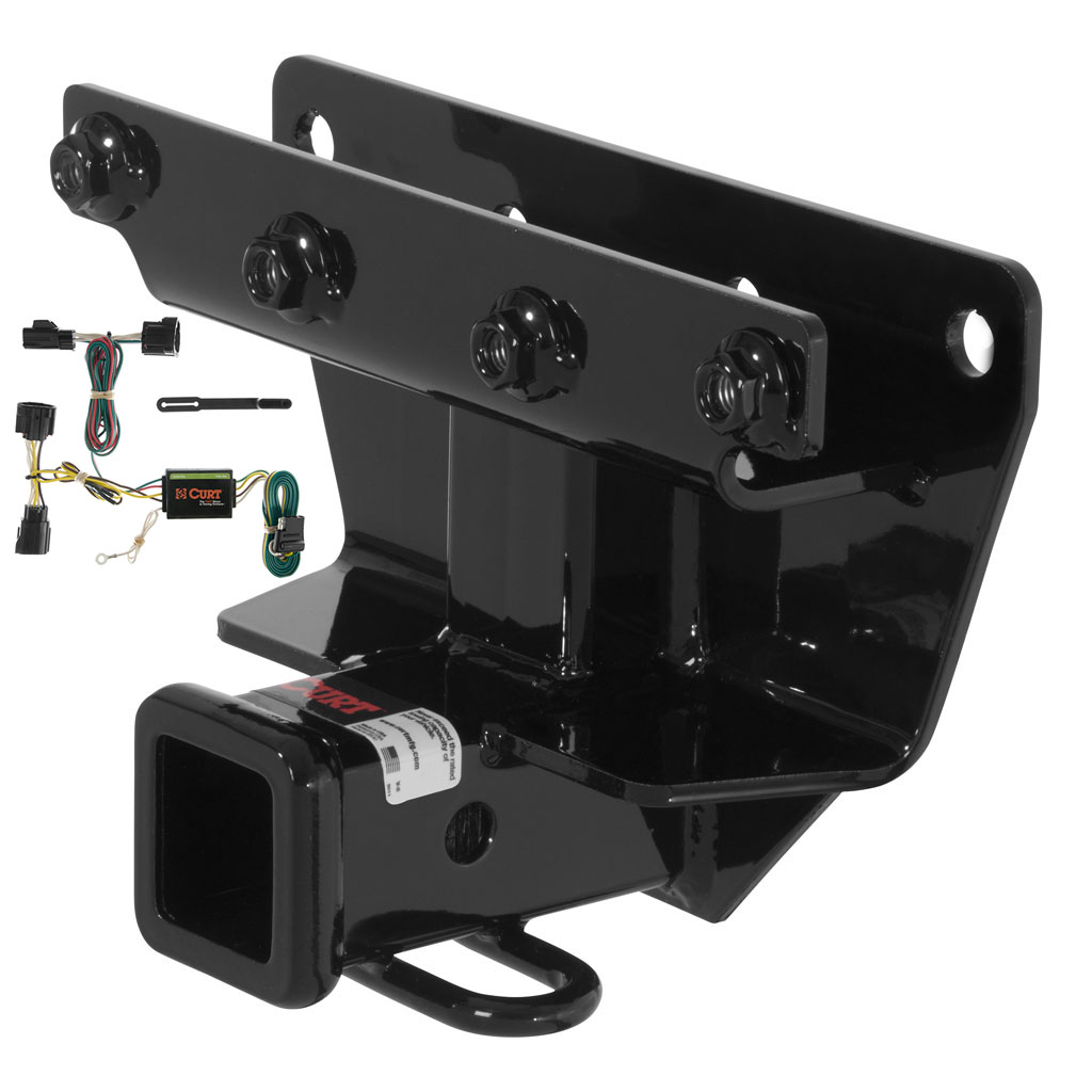 Curt Class 3 Trailer Hitch Wiring For 2006 2010 Jeep Commander Ebay No Converter 4 Flat Custom Fit
