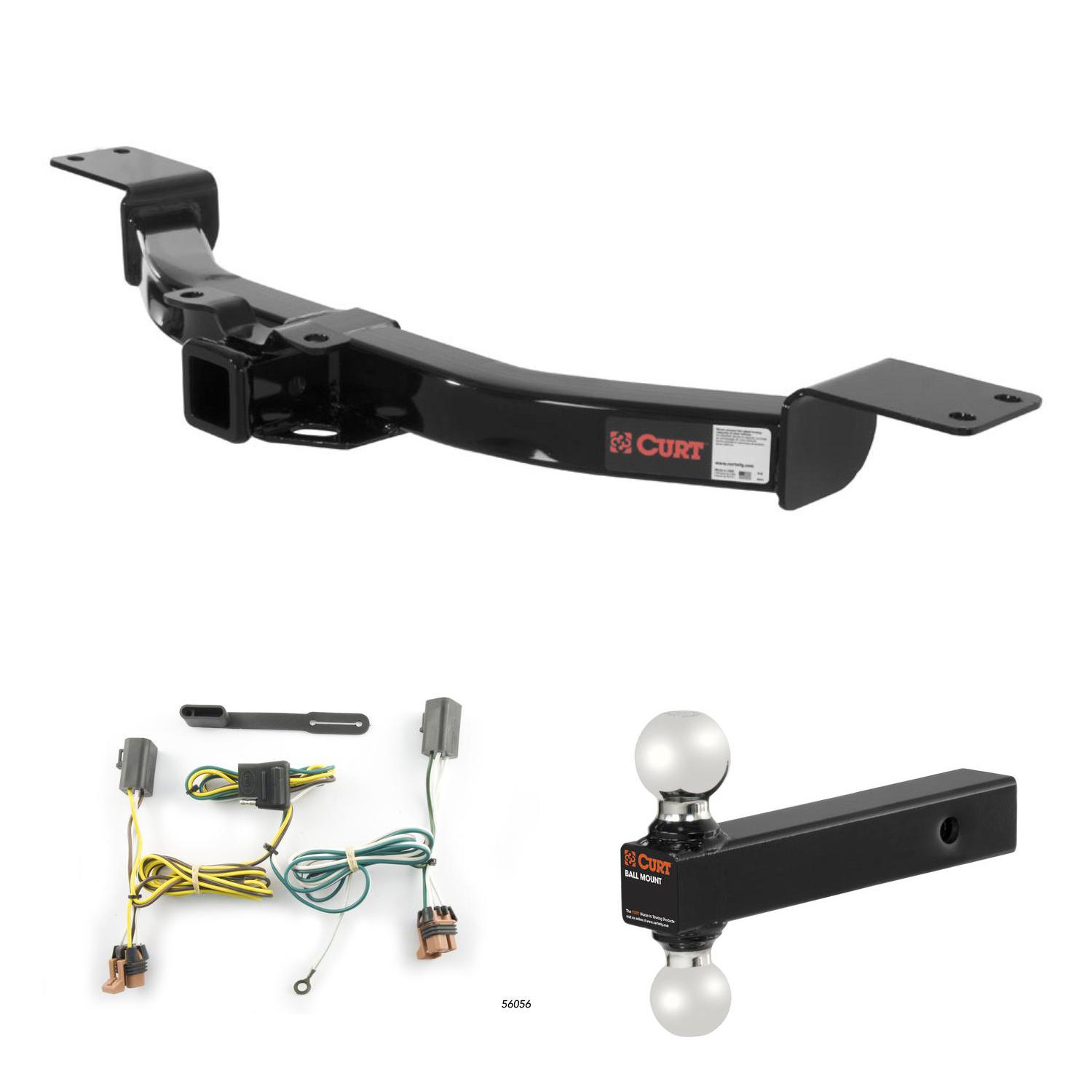 curt trailer hitch wiring multi ball ball mount for. Black Bedroom Furniture Sets. Home Design Ideas