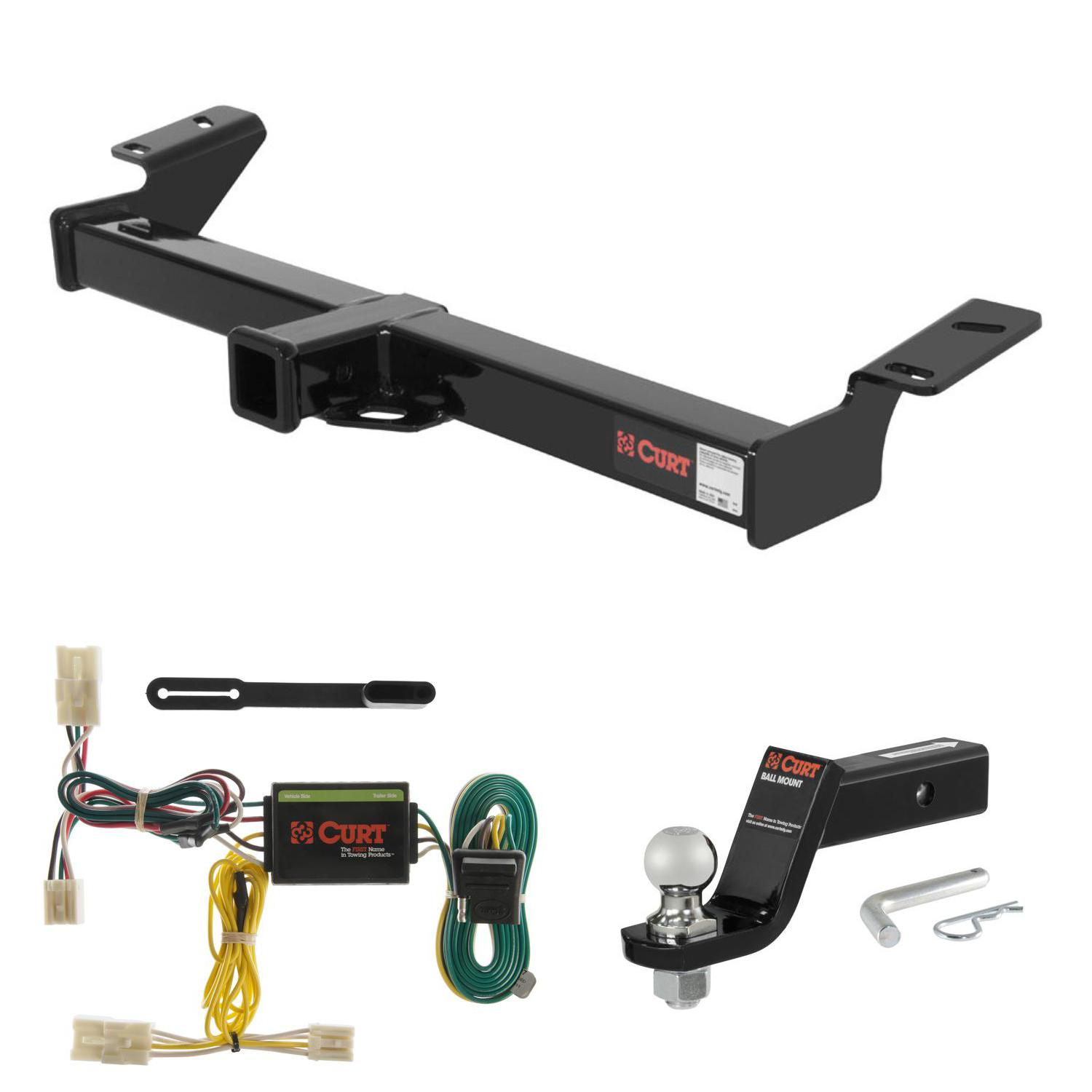 Curt Trailer Hitch Wiring Installation Solutions Rav4 2 Ball Mount W 4 Drop For 01 05