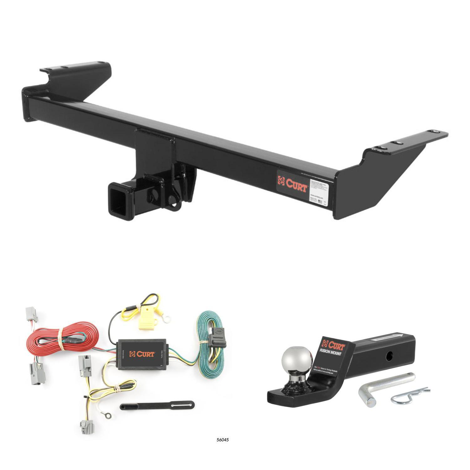 CURT Trailer Hitch, Wiring & 2\