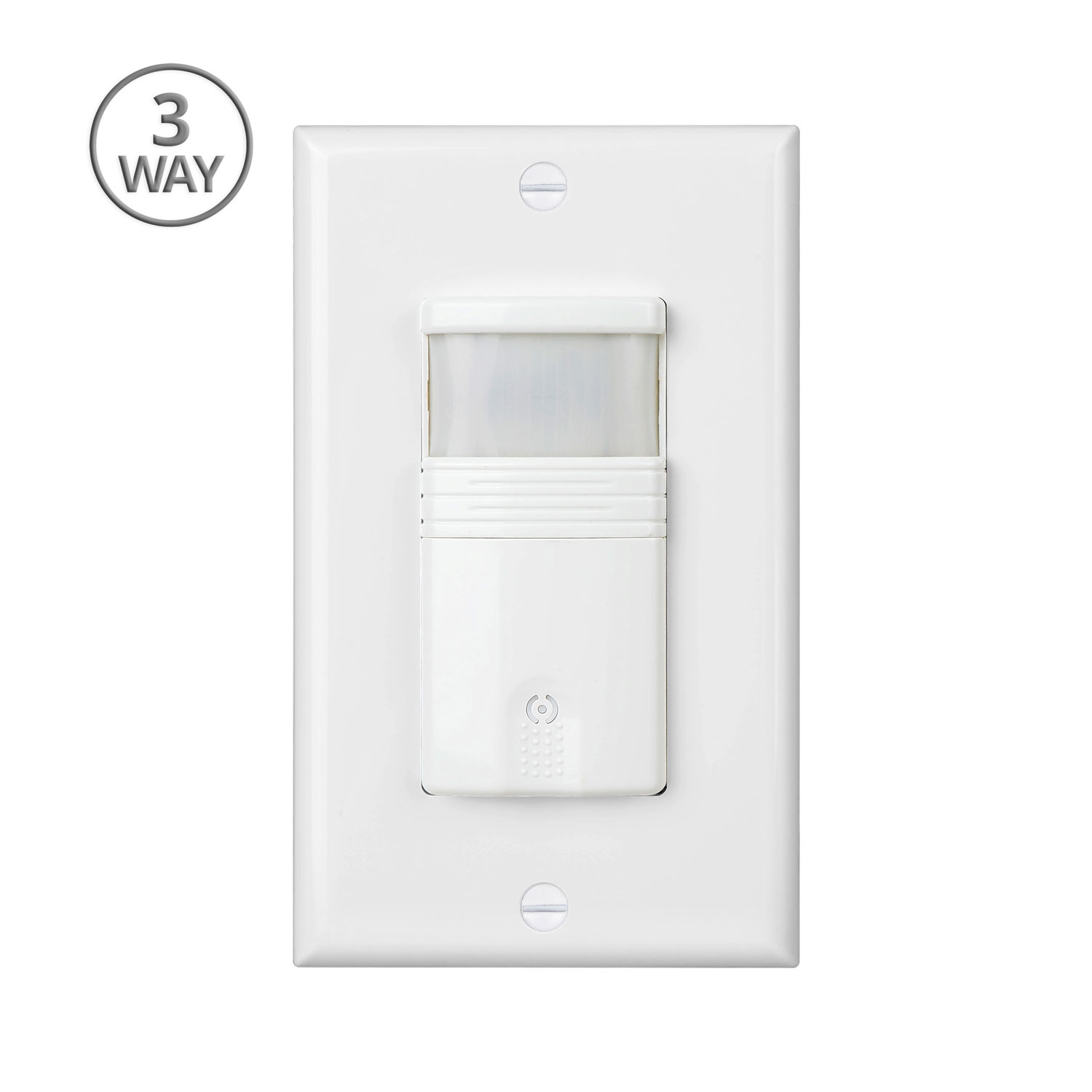 Details About White 3 Way Motion Sensor Light Switch With Adjule Timer Ul Certified