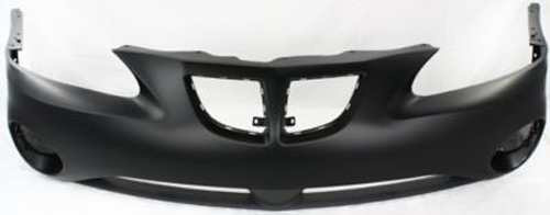 Primed Front Bumper Cover Replacement For 2004 2008