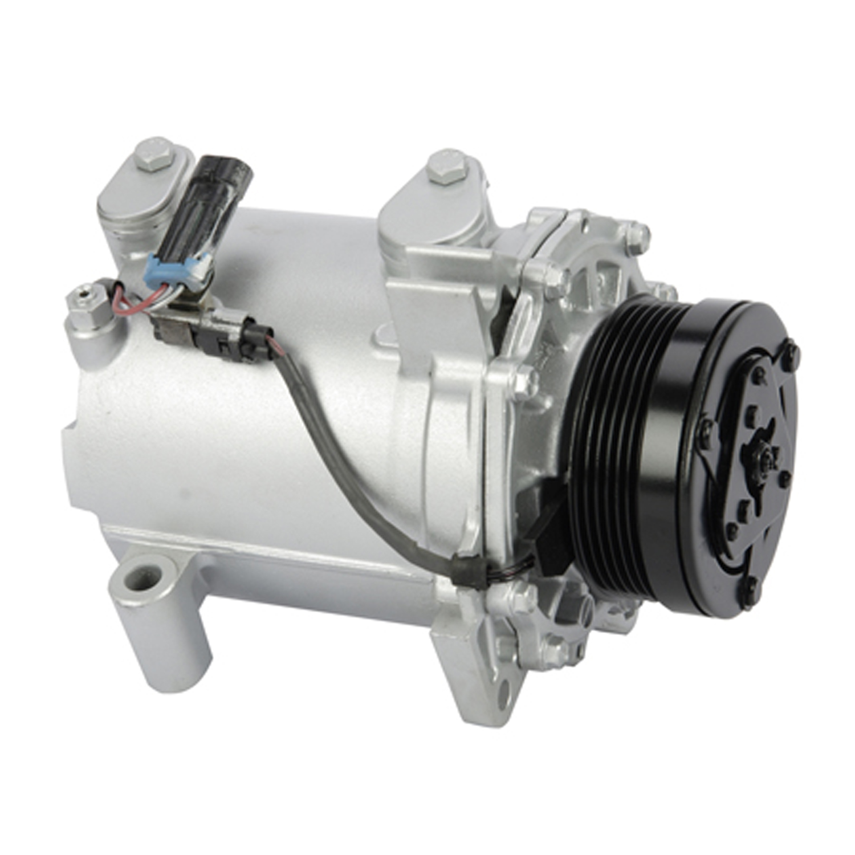 A/C Compressor & Condenser, Reservoir, Radiator Kit For 01