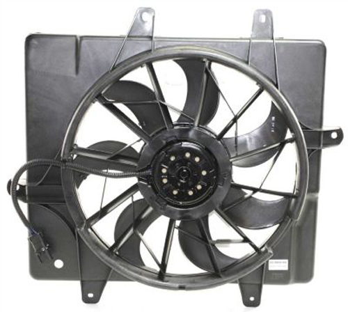 Single-Cooling-Fan-for-2006-2010-Chrysler-PT-Cruiser-CH3115146 thumbnail 4