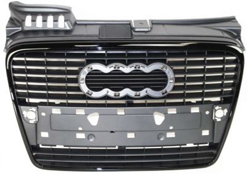 CPP Grill Assembly for 2005-2008 Audi A4, A4 Quattro, S4 ...