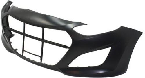 primed front bumper cover replacement for 2013 hyundai elantra gt ebay. Black Bedroom Furniture Sets. Home Design Ideas