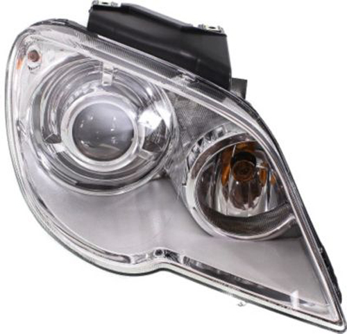 right passenger side headlight head lamp for 2007 2008. Black Bedroom Furniture Sets. Home Design Ideas
