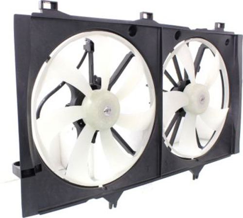 Dual-Cooling-Fan-for-Toyota-Camry-Venza-TO3115164 thumbnail 3
