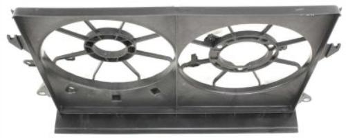 Dual-Radiator-Fan-Shroud-for-2005-2010-Scion-tC-SC3115101 thumbnail 6